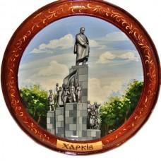 """Тарелка """"Памятник Шевченко"""""""