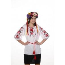 "Блуза женская ""Букет троянды"""