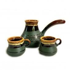 Турка з двома чашками